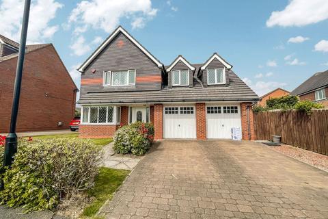 4 bedroom detached house for sale - Hopton Drive, Ryhope, Sunderland, Tyne and Wear, SR2 0LT