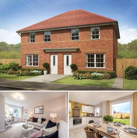 3 bedroom semi-detached house for sale - Plot 85, Maidstone at Emberton Grange, Hassall Road, Alsager, STOKE-ON-TRENT ST7