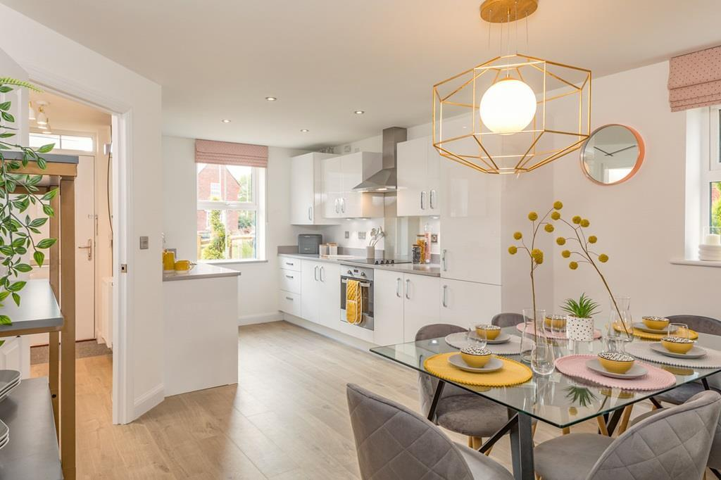Moorland Gate Ashurst 3 bedroom home kitchen internal shot