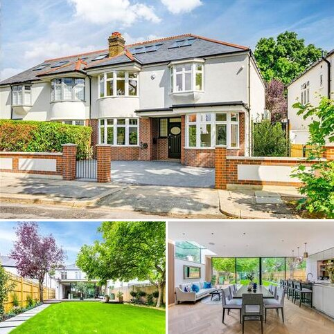 5 bedroom semi-detached house for sale - Westmoreland Road, Barnes, London, SW13