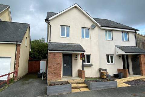 3 bedroom semi-detached house for sale - Bryn Steffan , Lampeter, SA48