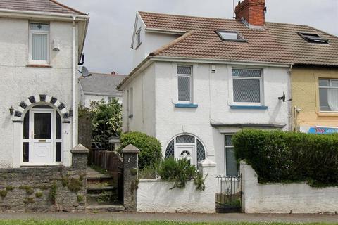 4 bedroom semi-detached house for sale - Tycoch Road, Sketty, Swansea