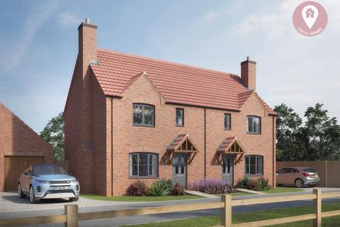 3 bedroom semi-detached house for sale - Glebe Rise, Wymondham, Melton Mowbray