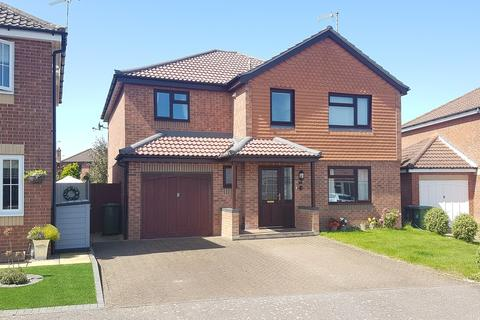 4 bedroom detached house for sale - Plumbly Close, North Walsham