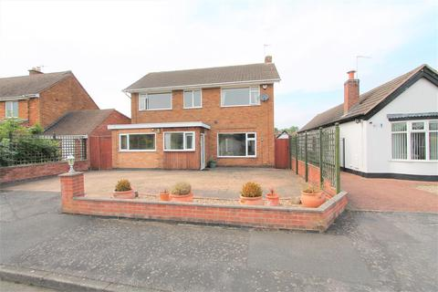 5 bedroom detached house for sale - Woodside Road, Oadby, Leicester LE2
