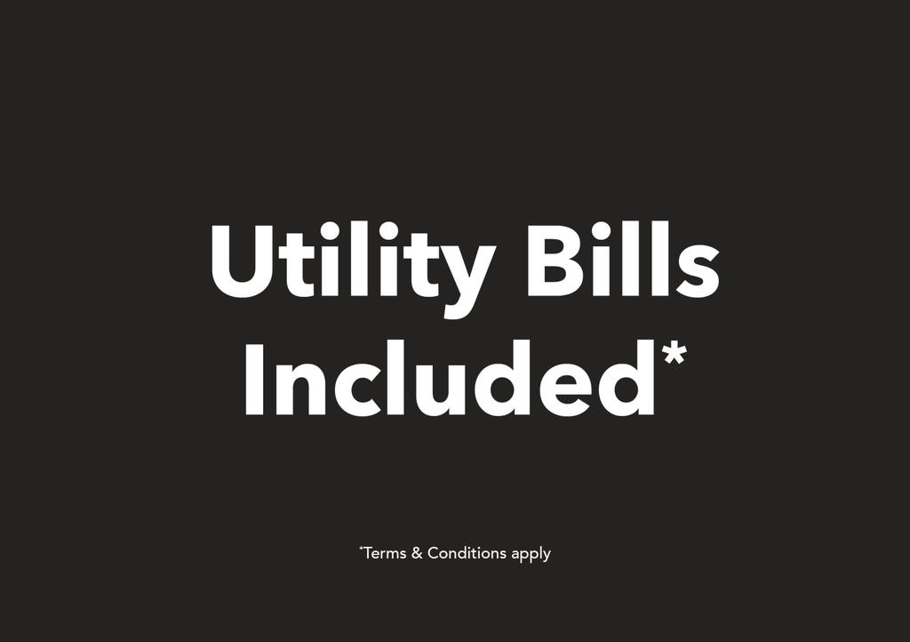 Utility Bills Included