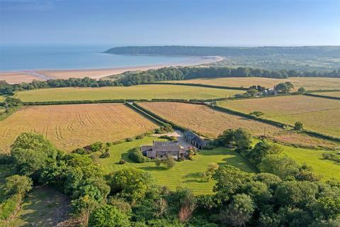 5 bedroom detached house for sale - Western Farm, Nicholaston, Swansea