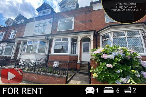 6 bedroom semi-detached house to rent - East Park Road, Leicester, LE5