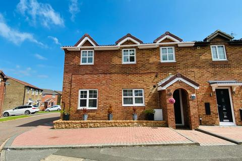 4 bedroom semi-detached house for sale - Brougham Court, Peterlee, Co. Durham