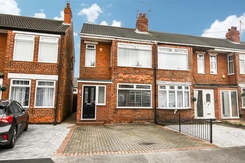 3 bedroom end of terrace house for sale - Westfield Road, Hull