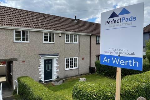 4 bedroom semi-detached house for sale - Heol Tir Du, Cwmrhydyceirw, Swansea