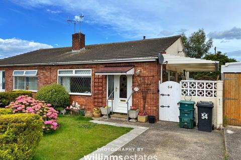 2 bedroom semi-detached bungalow for sale - Llys Charles, Towyn