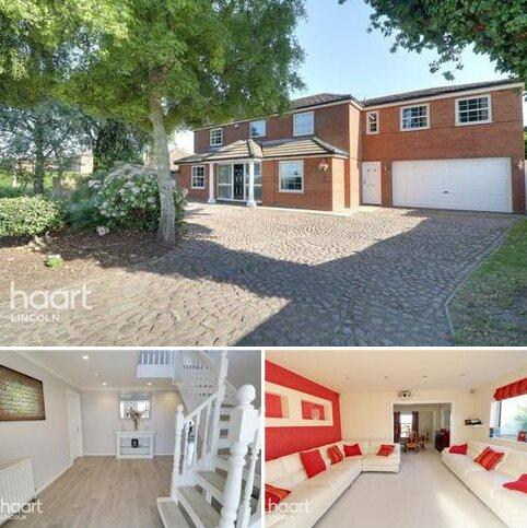 5 bedroom detached house for sale - Fen Road, Washingborough