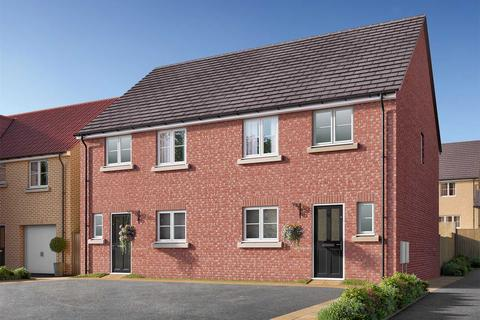 3 bedroom semi-detached house for sale - Plot 296, The Eveleigh at Copperfields, Showground Road, Malton, North Yorkshire YO17