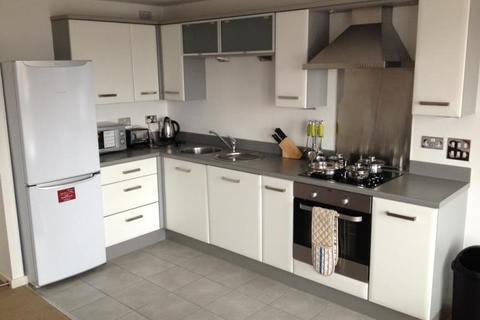 Studio to rent - Hive, Masshouse Plaza, Birmingham, B5 5JN