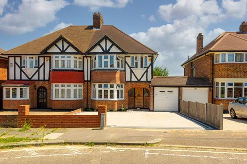 3 bedroom semi-detached house for sale - Stoneleigh Crescent, Epsom