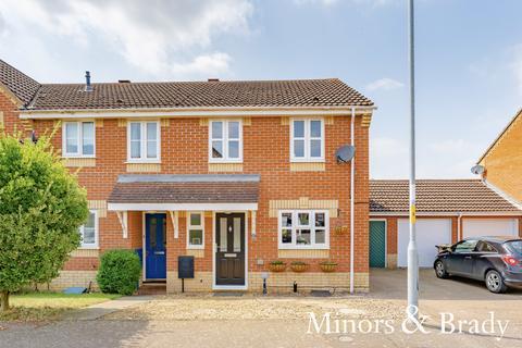 3 bedroom end of terrace house for sale - Sorrel Drive, Attleborough