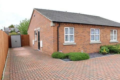 2 bedroom semi-detached bungalow for sale - Tomlinson Close, Newton, Alfreton. DE55 5AW