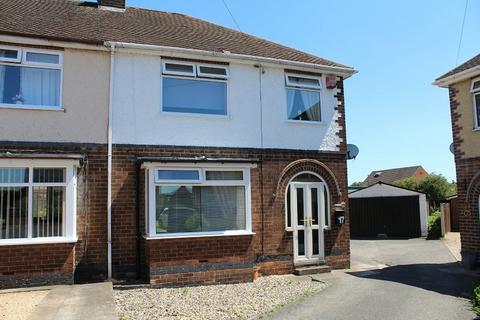 3 bedroom semi-detached house for sale - George Crescent, Riddings, Alfreton, Derbyshire. DE55 4AL
