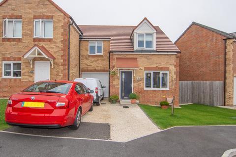 3 bedroom semi-detached house for sale - Dewhirst Close, Leadgate, Consett, Durham