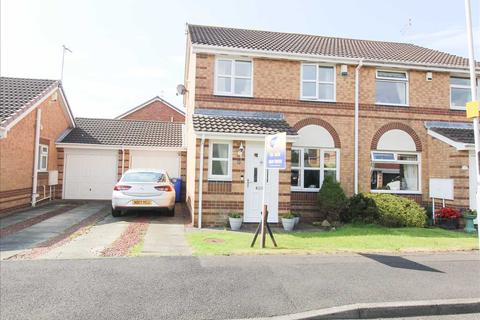 3 bedroom semi-detached house for sale - Brunton Way, Northburn Chase, Cramlington