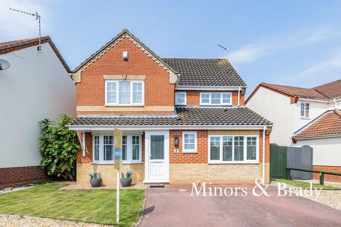 4 bedroom detached house for sale - Fleetwood Drive, Dussindale