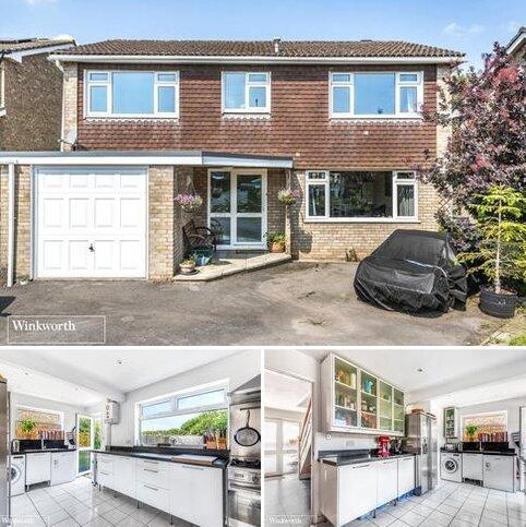4 bedroom detached house for sale - Melford Gardens, Basingstoke, Hampshire, RG22