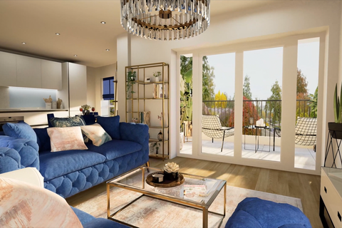 2 bedroom apartment for sale - Plot 9, West Cliff Mansions at Stubbings Property Marketing, Hahnemann Road BH2