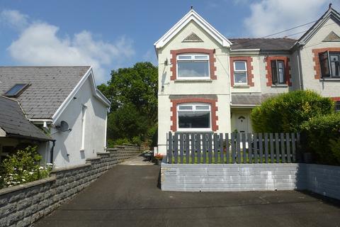 3 bedroom semi-detached house for sale - Grenig Road, Glanamman, Ammanford, Carmarthenshire.