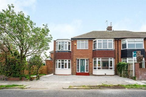 4 bedroom semi-detached house for sale - Kenton Avenue, Gosforth, Newcastle Upon Tyne, Tyne And Wear