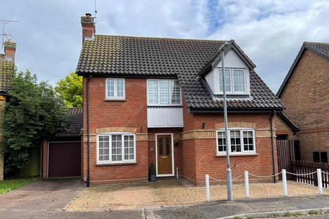 3 bedroom detached house for sale - Willoughby Drive, Chelmer Village , Chelmsford, CM2