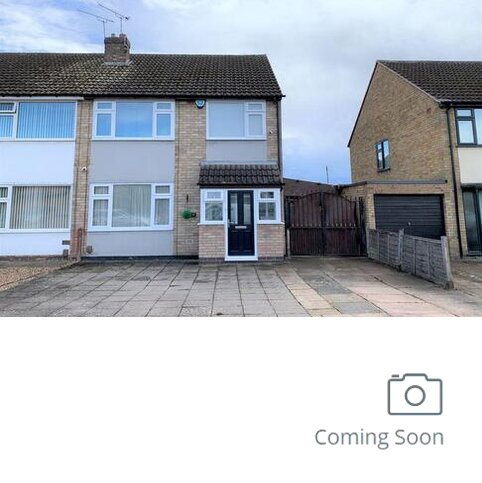 3 bedroom semi-detached house to rent - Elizabeth Drive, Thumaston, LE4 8FX