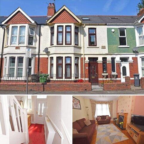 4 bedroom terraced house for sale - LONGSPEARS AVENUE, HEATH/GABALFA, CARDIFF