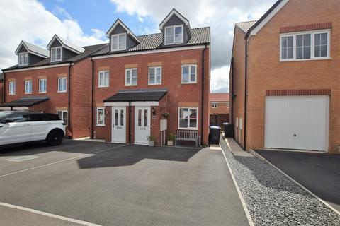 3 bedroom semi-detached house for sale - Dalby Way, Middle Farm Village, Stanley