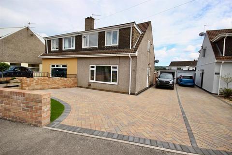 3 bedroom semi-detached house for sale - Cherry Tree Road, The Bryn, Pontllanfraith, Blackwood