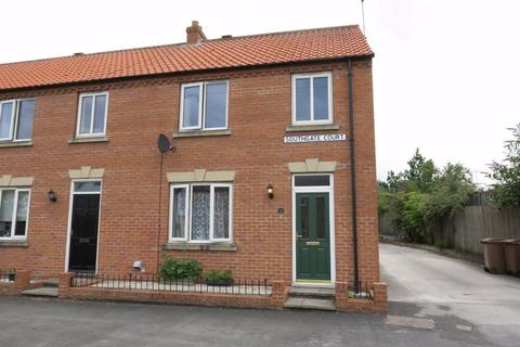 3 bedroom end of terrace house for sale - Southgate Court, Market Weighton