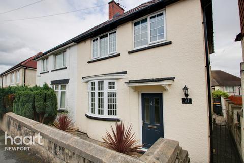 3 bedroom semi-detached house for sale - Gaer Park Road, Newport