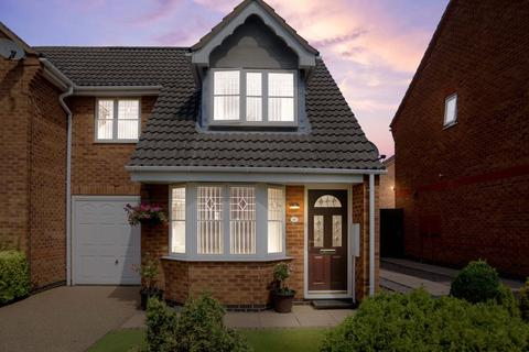3 bedroom semi-detached house for sale - Normanton Drive, Oakham LE15 6FG