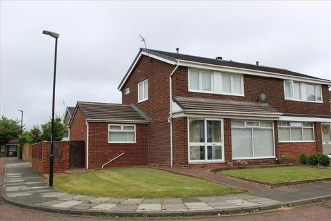 3 bedroom semi-detached house for sale - MELSONBY CLOSE, MOORSIDE, Sunderland South, SR3 2QL