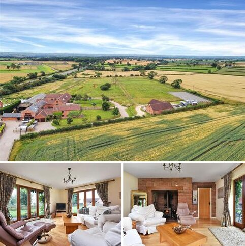 4 bedroom detached house for sale - Oaks Farm Close, Six Hills, Melton Mowbray