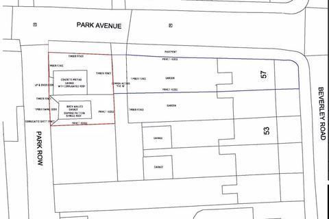 Land for sale - Land East of 1 Park Avenue, Hessle