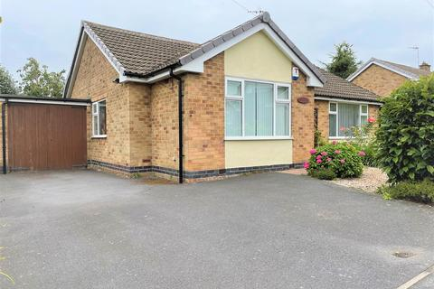 3 bedroom detached bungalow for sale - Dalby Drive, Groby, Leicester