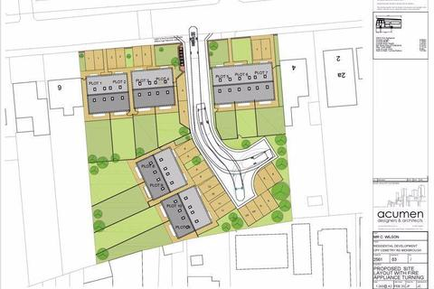 Plot for sale - Cemetery Road, Mexborough