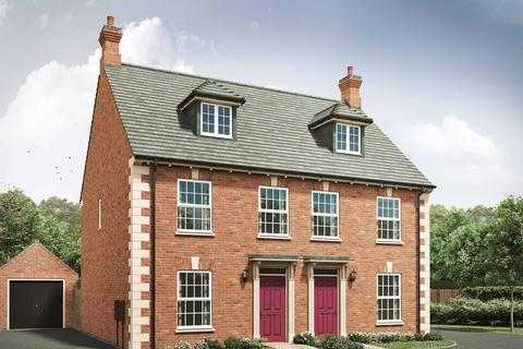 3 bedroom semi-detached house for sale - Plot 410, The Thornton G at Davidsons at Wellington Place, Davidsons at Wellington Place, Leicester Road LE16