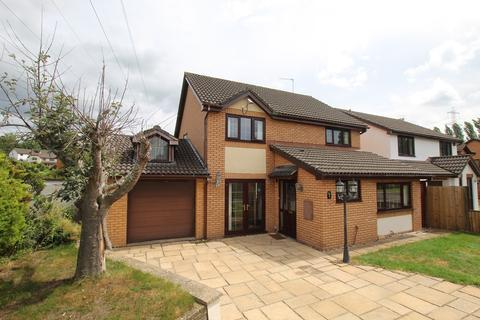 4 bedroom detached house for sale - De Ballon Close, Ysbytty Fields, Abergavenny, NP7