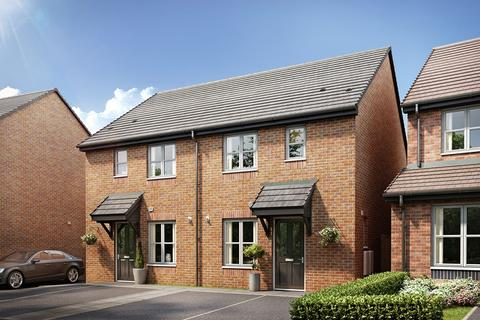 3 bedroom end of terrace house for sale - The Dadford - Plot 196 at Burleyfields, Martin Drive ST16