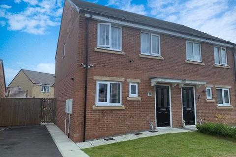 3 bedroom semi-detached house for sale - Lazonby Way, Newcastle Upon Tyne