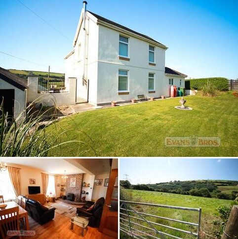 4 bedroom property with land for sale - Llannon, Llanelli