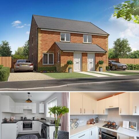2 bedroom semi-detached house for sale - Plot 011, Kerry at Greencroft View, Greencroft View, West Road, Annfield Plain DH9