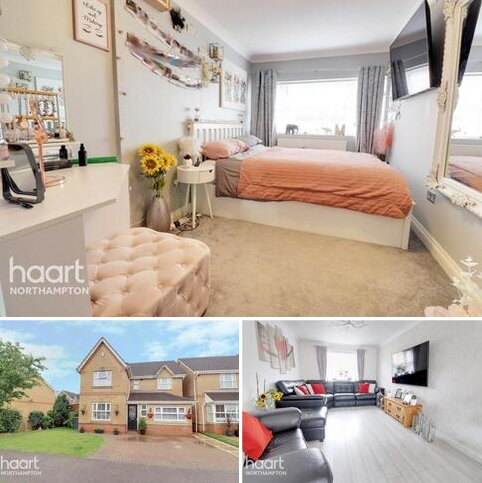 4 bedroom detached house for sale - Riverstone Way, Northampton